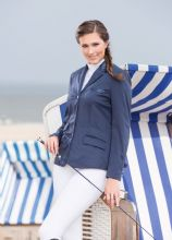HKM CAVALINO SEASIDE SOFT SHELL WATERPROOF RIDING SHOW JACKET - SALE RRP £ 139